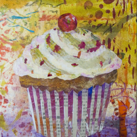 11-19-19 – Art a la Carte – Mixed Media Cupcakes with Beth Andrews