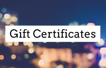 Gift Certificate Options - Willingham Theater, The Center Bistro, Willingham Performing Arts Academy classes, and Yadkin Cultural Arts Center Art a la Carte classes